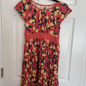 Tea Collection Girls Size 12 Pink Floral Dress